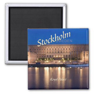 Stockholm Sweden Travel Photo Fridge Magnets