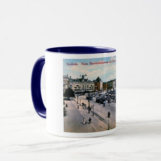 Stockholm, Sweden, View, National Museum, Vintage Mug
