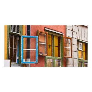 Stockholm Windows Personalised Photo Card
