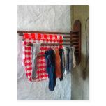 Stocking Hanging to Dry