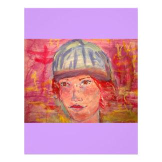 stocking hat girl 21.5 cm x 28 cm flyer
