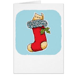 Stocking I O U Card