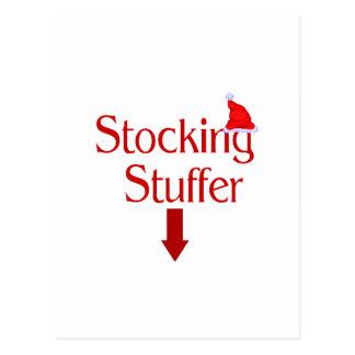 Stocking Stuffer Postcard
