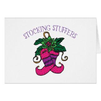 Stocking Stuffers Cards