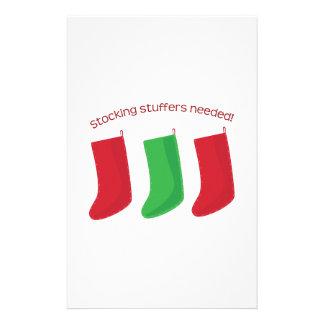 Stocking Stuffers Stationery Design