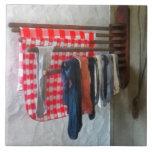 Stockings Hanging to Dry