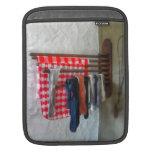 Stockings Hanging to Dry iPad Sleeve