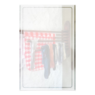 Stockings Hanging to Dry Stationery