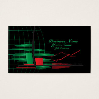 Stocks Broker Business Card