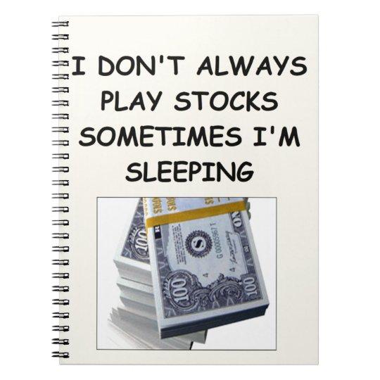 stocks notebook