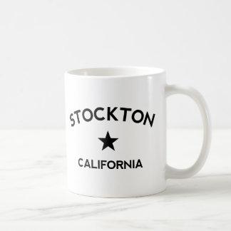 Stockton California Basic White Mug