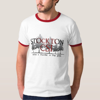 Stockton CSI Treeline Ringer Tee Shirt