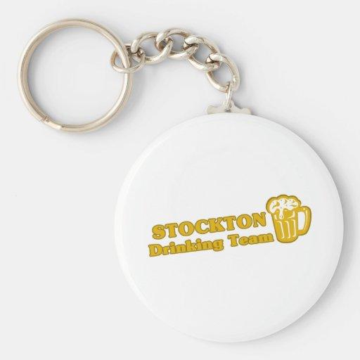 Stockton Drinking Team tee shirts Key Chains