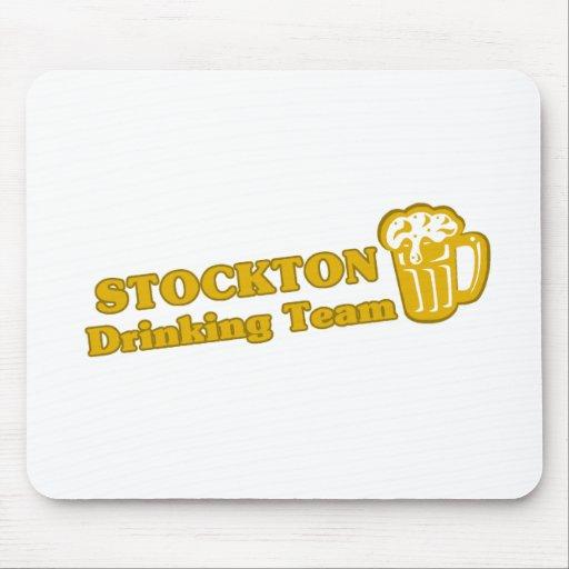 Stockton Drinking Team tee shirts Mouse Pad