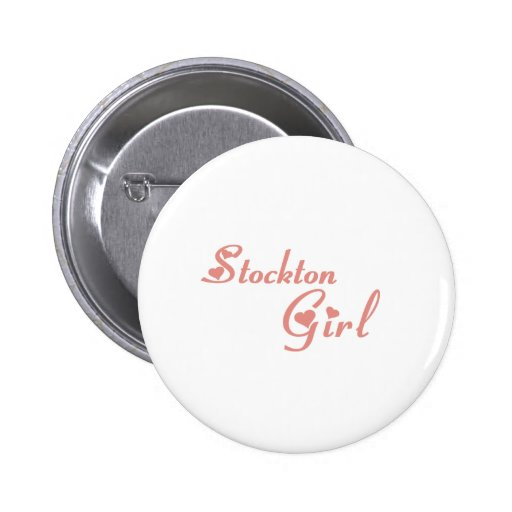 Stockton Girl tee shirts Pin