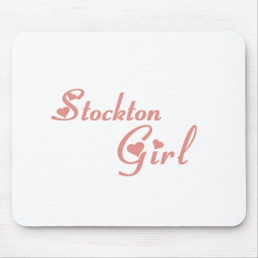 Stockton Girl tee shirts Mouse Pad