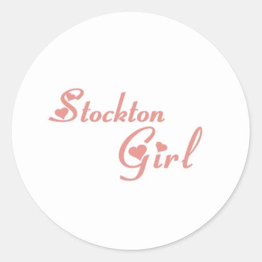 Stockton Girl tee shirts Sticker