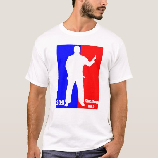 "Stockton MMA - 209 ""Hey Buddy"" Pro Logo T T-Shirt"