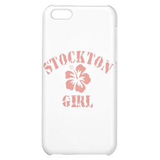 Stockton Pink Girl Cover For iPhone 5C