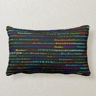 Stockton Text Design I Lumbar Pillow Throw Cushions