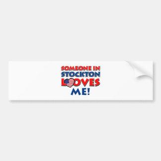 STOCKTON USA designs Bumper Sticker