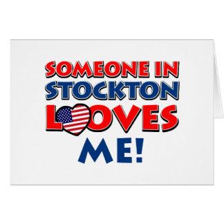 STOCKTON USA designs Greeting Card