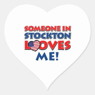 STOCKTON USA designs Heart Sticker