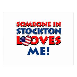 STOCKTON USA designs Postcard