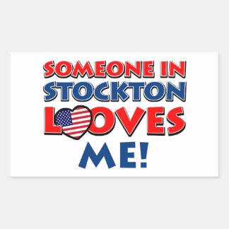 STOCKTON USA designs Rectangular Sticker