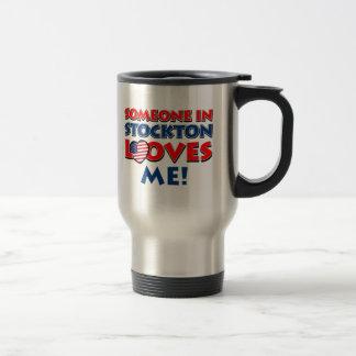 STOCKTON USA designs Stainless Steel Travel Mug