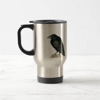 Stocky Raven Travel Mug