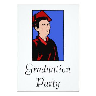 Stoic Grad 13 Cm X 18 Cm Invitation Card