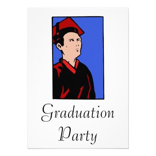 Stoic Grad Custom Invites