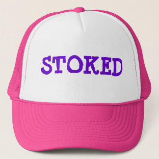 """""""STOKED"""" Hat Pink/Purple"""
