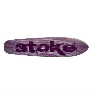 Stoked Skate Board Deck