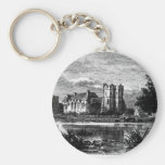 Stokesay Castle 1897 Basic Round Button Key Ring