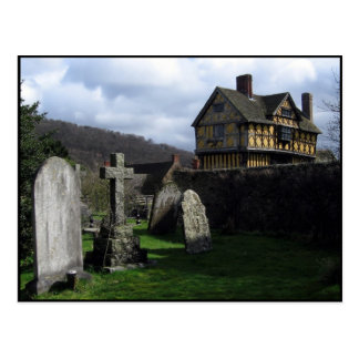 Stokesay Castle England Post Cards