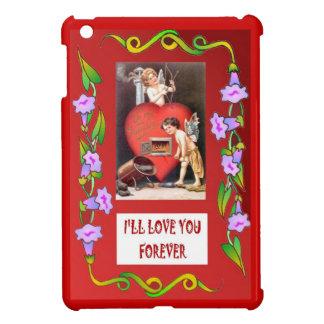 Stoking the hearts of love iPad mini case