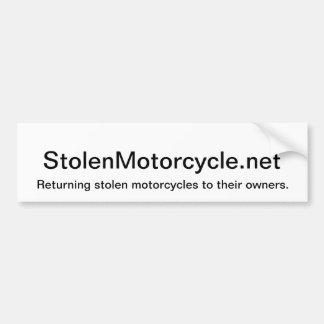 Stolen Bumper Sticker Car Bumper Sticker