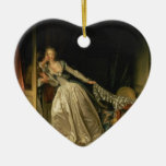 Stolen Kiss - Fragonard Christmas Tree Ornaments