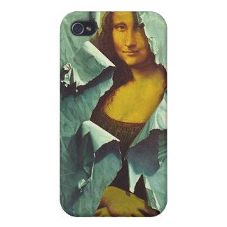 stolen mona lisa  iPhone 4 cover