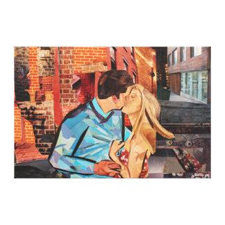 Stolen / Returned Canvas Print