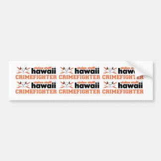 Stolen Stuff Hawaii Crimefighter Mini Stickers