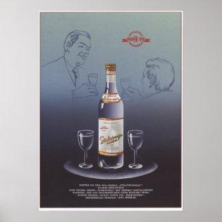 Stolichnaya Vodka Poster