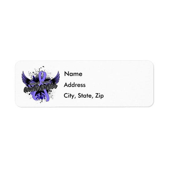 Stomach Cancer Awareness 16 Return Address Label
