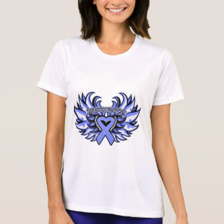 Stomach Cancer Awareness Heart Wings png T-shirts