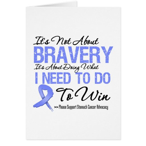 Stomach Cancer Battle Greeting Card