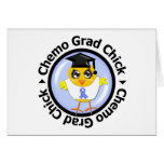 Stomach Cancer Chemo Grad Chick Cards