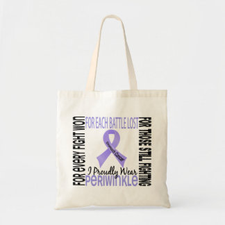 Stomach Cancer I Proudly Wear Periwinkle 2 Tote Bag