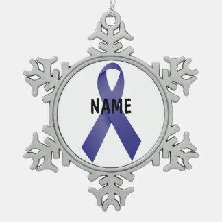 Stomach Cancer Memorial Ornament